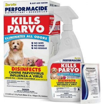 Performacide Kills Parvo Disinfectant & Deodorizer Kit