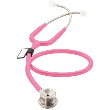 Pink MD One® Stethoscope for Pediatric Patients